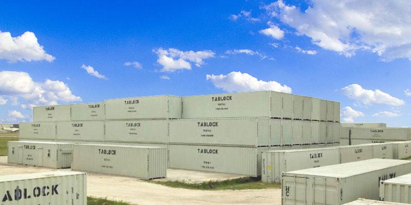 Tadlock Container Rentals - Yard